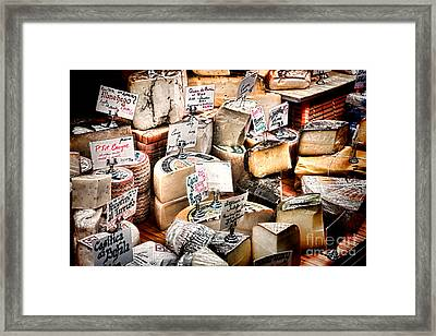 Cheese Shop Framed Print by Olivier Le Queinec