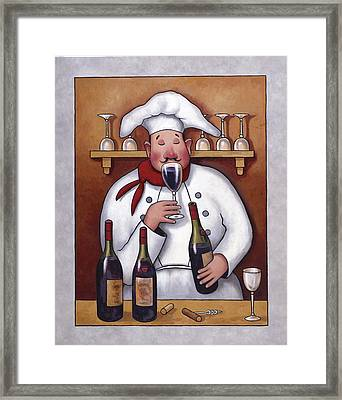 Chef 1 Framed Print by John Zaccheo