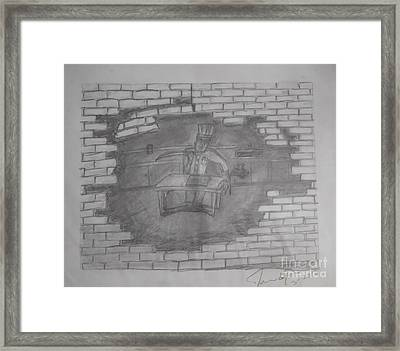 Chef Picasso Framed Print by James Eye