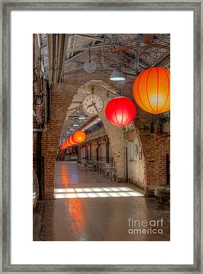 Chelsea Market I Framed Print by Clarence Holmes