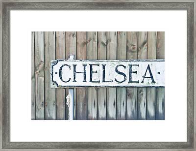 Chelsea Framed Print by Tom Gowanlock