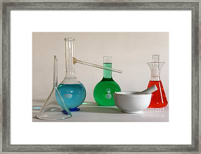 Chemistry Class Framed Print by Paul Ward