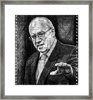 Cheney Framed Print by Mark Zelmer