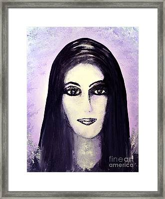 Cher Framed Print by Alys Caviness-Gober