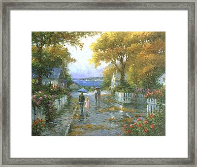 Cherished Fondness Framed Print by Ghambaro