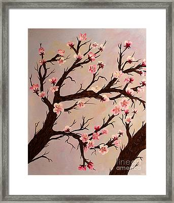 Cherry Blossom 1 Framed Print by Barbara Griffin