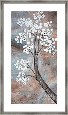 Cherry Blossom Framed Print by Home Art