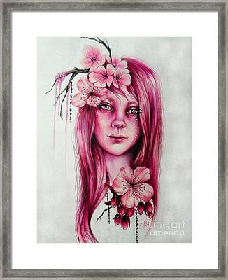 Cherry Blossom Framed Print by Sheena Pike