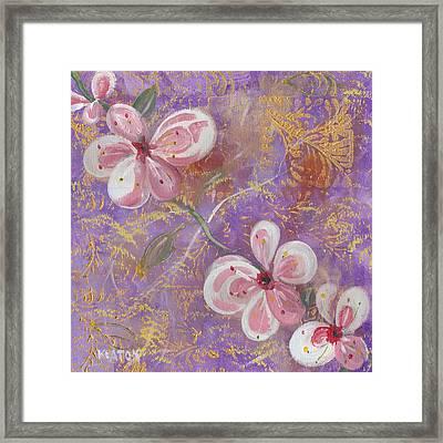 Cherry Blossoms Framed Print by John Keaton