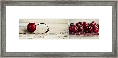 Cherry Framed Print by Nailia Schwarz