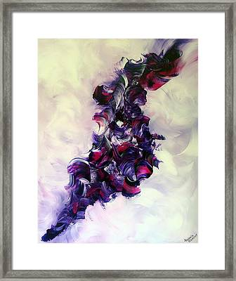 Cherry Rock'n Roll Framed Print by Isabelle Vobmann