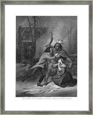 Cherry Valley Massacre Framed Print by Granger