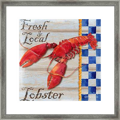 Chesapeake Lobster Framed Print by Paul Brent