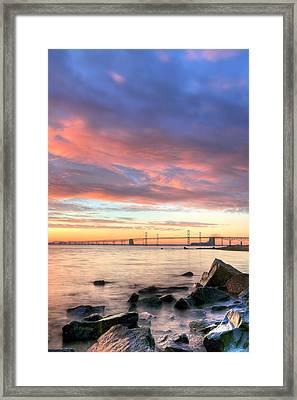 Chesapeake Mornings  Framed Print by JC Findley