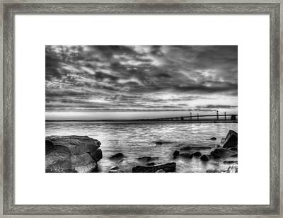 Chesapeake Splendor Bw Framed Print by JC Findley