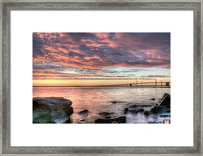 Chesapeake Splendor  Framed Print by JC Findley
