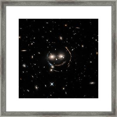 Cheshire Cat Galaxy Group Framed Print by Nasa/chandra X-ray Observatory Center
