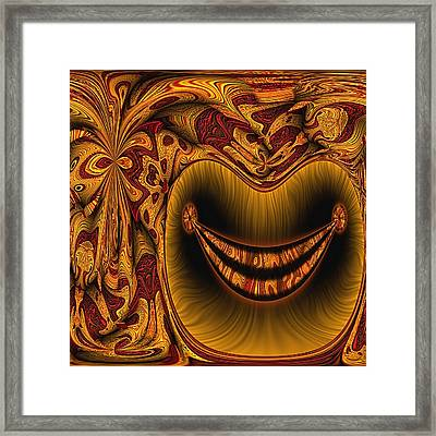 Cheshire Framed Print by Wendy J St Christopher