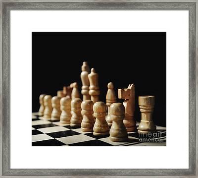 Chess Framed Print by Jelena Jovanovic