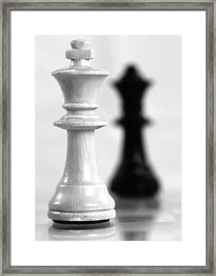 Chess Posters Framed Print by Falko Follert