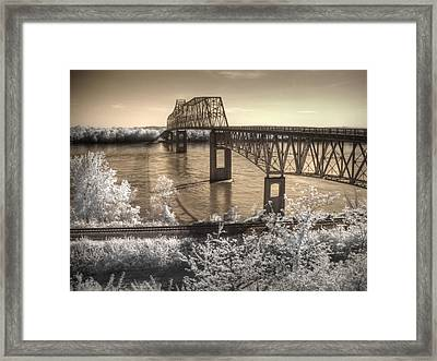 Chester Home Of Popeye Framed Print by Jane Linders