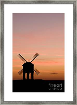 Chesterton Windmill Framed Print by Anne Gilbert
