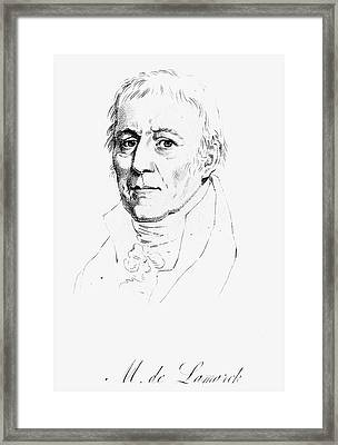 Chevalier De Lamarck (1744-1829) Framed Print by Granger