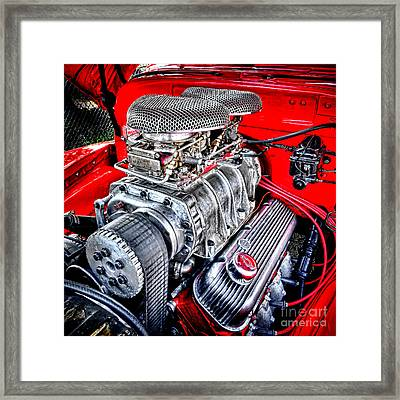 Chevrolesque Framed Print by Olivier Le Queinec