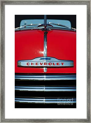 Chevrolet 3100 1953 Pickup Framed Print by Tim Gainey
