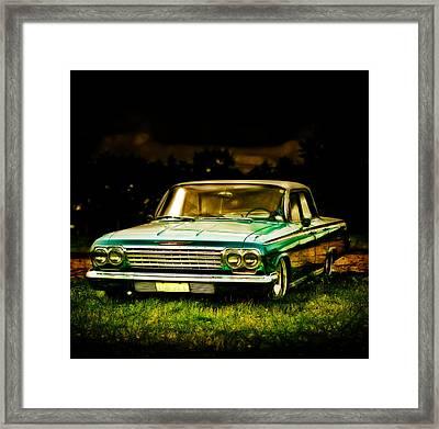 Chevrolet Impala Framed Print by motography aka Phil Clark