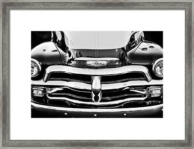 Chevrolet Pickup Truck Framed Print by Jill Reger
