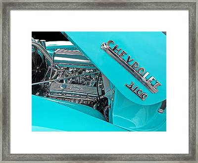 Chevy 3100 Hot Rod Framed Print by Gill Billington
