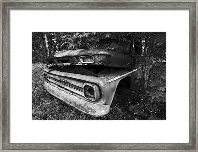 Chevy For The Ages Framed Print by Andy Crawford