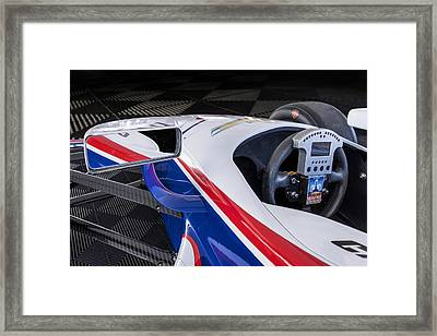 Chevy Powered Indy Car Detail Framed Print by Gary Warnimont