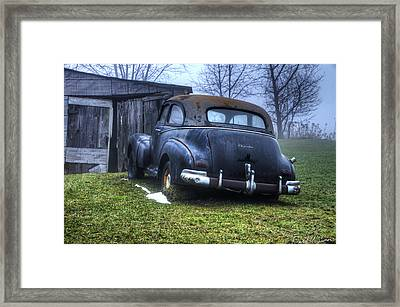 Chevy Runs Deep Framed Print by David Simons