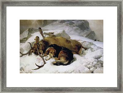 Chevy Framed Print by Sir Edwin Landseer