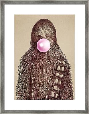 Big Chew Framed Print by Eric Fan
