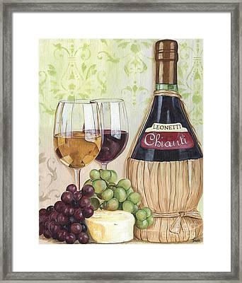 Chianti And Friends Framed Print by Debbie DeWitt