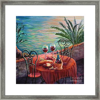 Chianti Time Framed Print by Marilyn Smith