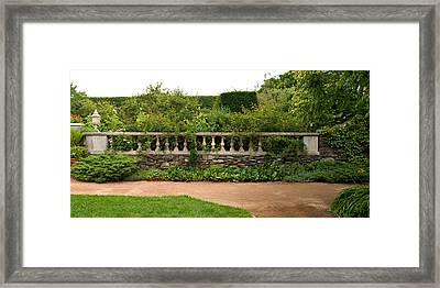 Chicago Botanic Garden Scene Framed Print by Steve Gadomski