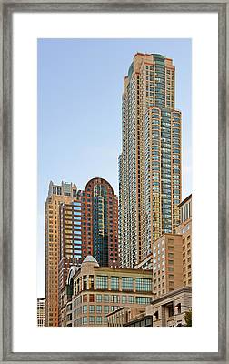 Chicago - Chi-town - Chitown - The City Beautiful Framed Print by Christine Till