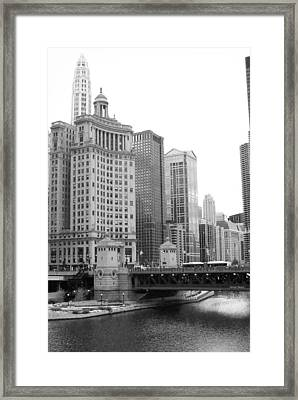 Chicago Downtown 2 Framed Print by Bruce Bley