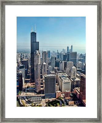 Chicago Framed Print by Jeff Lewis
