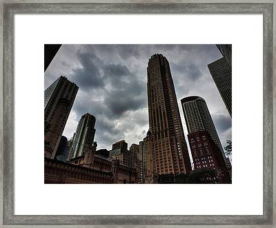 Chicago - The Mag Mile 002 Framed Print by Lance Vaughn