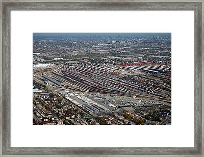 Chicago Transportation 01 Framed Print by Thomas Woolworth