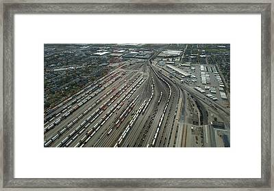 Chicago Transportation 02 Framed Print by Thomas Woolworth