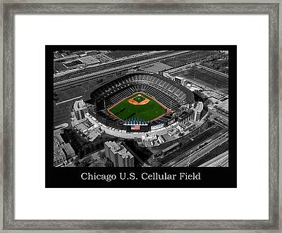 Chicago Us Cellular Field Sc Framed Print by Thomas Woolworth