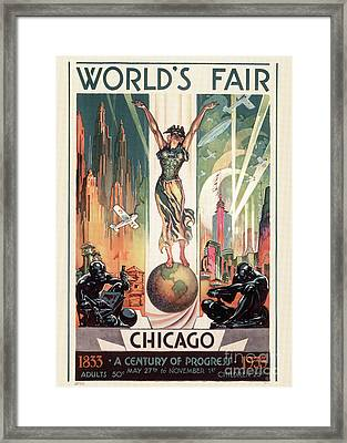 Chicago World's Fair 1933 Framed Print by Granger