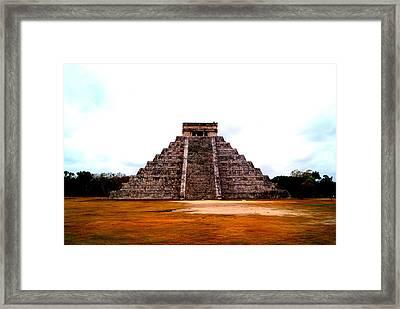 Chichen Itza Framed Print by Adam  S