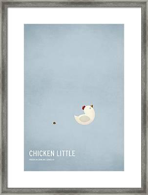 Chicken Little Framed Print by Christian Jackson